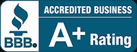 Better Business Bureau A+ Logo